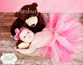 Baby Pink Tutu ONLY,  First Birthday or photo prop, you pick any size preemie up to 24 months - PINK TAFFY