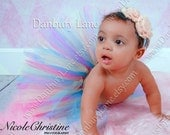 Baby Birthday tutu only, infant party dress up and photo prop, any size girls newborn,3,6,9,12,18,or 24 months -LOLLIPOP TREE