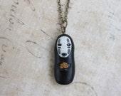 No Face - Miyazaki inspired character necklace