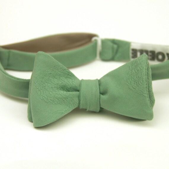 silk sage freestyle bow tie
