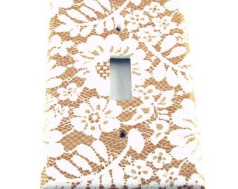 Light Switch Cover Wall Decor Light Switchplate Switch Plate in  Chantilly  (199S)