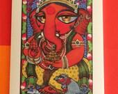 Ganesha MINI print