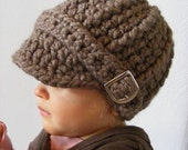 Toddler Hat 34 Colors 1T to 2T Toddler Girl Hat Toddler Boy Hat Toddler Girl Clothes Toddler Boy Clothes Crochet Winter Hat Silver Buckle