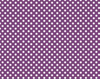 Riley Blake Designs, Small Dots in Purple (C350 125)