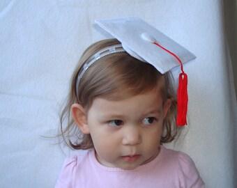 Graduation Headband Dress Up Costume Graduation Hat Felt Hat Graduation Party Hat Photo Prop
