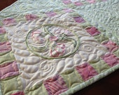 """Spring Meadow  Table Runner 50"""" x 17"""""""