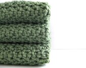 cotton crochet dishcloths AND you can pick the colors