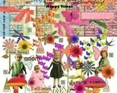 Digital Kit-Spring No.4 -For Digital Art PNG files-Instant Download