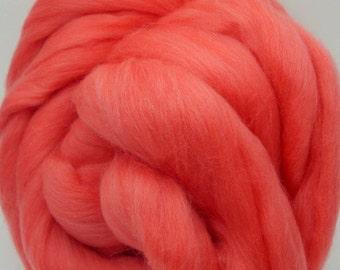 4 oz. Merino Wool Top - Dahlia