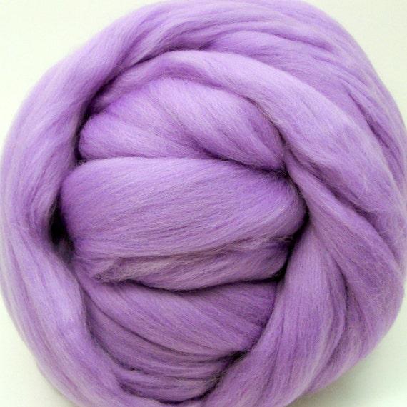 4 oz. Merino Wool Top - Lilac Fields - Ships Free