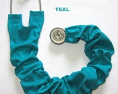 Stethoscope Cover Teal Solid
