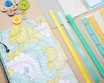 Mixed Paper Journal Kit - Seaside