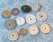 Dozen Vintage Watch Faces (WPF448)