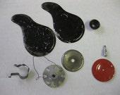 Cool Vintage Metal Parts Stuff Toys Erector Camera Rattle Supplies Altered Art SALE