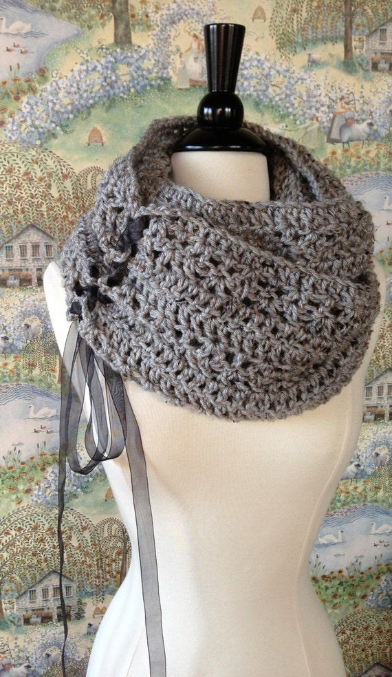 Free Crochet Pattern For Chunky Scarf : Trinity Scarf Crochet Pattern DIY Scarf or Oversized by ...