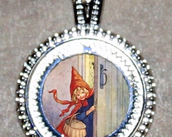 Little Red Riding Hood Pendant