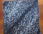 Vintage 1960's Vera Animal Print Scarf / Handkerchief