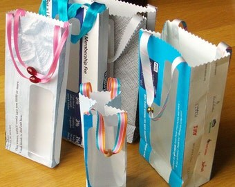 5 junk mail gift bags