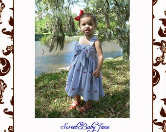 Sweet Baby Jane Sun Dress ePattern size 6m-14