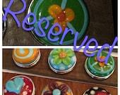RESERVED Cocobeads Handmade Interchangeable Lampwork Popper (Chunck) (1)