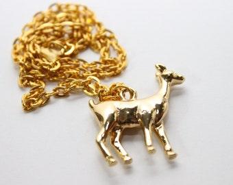 SALE-Deer Necklace