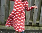 The Skater Dress sewing pattern -18m/2T, 3T/4T, 5Y/6Y, 7Y/8Y - pdf