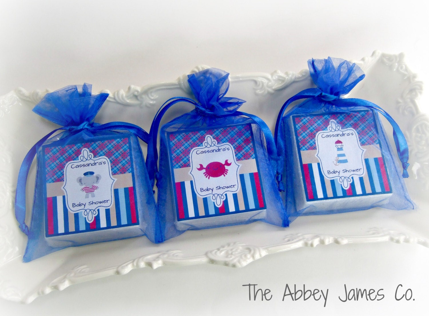 nautical baby shower favors nautical party favors by abbeyjames