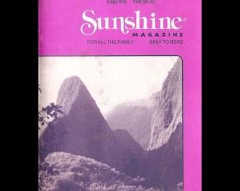 Sunshine - Vintage Magazine c. April 1987