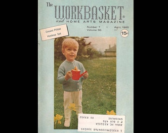 The Workbasket no. 7 vol. 30 - Vintage Craft Magazine c. April 1965