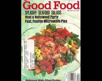 Good Food issue 35 - Vintage Cooking Magazine c. April 1988