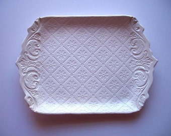 Victorian Quilt Serving Tray