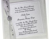 Rich Romance - Boxed Wedding Invitations-  Special listing for Christina,  115 Invitation sets.