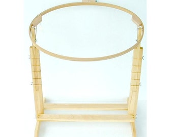 Quilting or Needlepoint Hoop and Stand - DIY PLAN - Adjustable - Digital HowTo