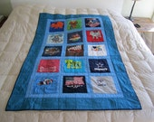 RESERVED LISTING for ToDyeForby Katie- Boy Crib T-shirt Quilt.