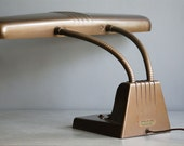 Vintage Industrial Lamp for Office Desk, Urban Lighting, Art Deco Light