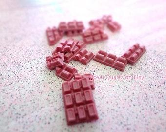 Medium Pink Chocolate Bars . Kawaii, cute, girly, and a great gift