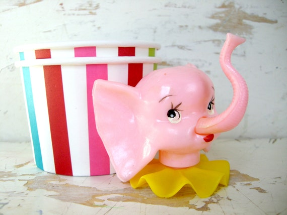 Circus elephant cake topper - photo#16