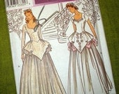 Misses' Retro Collection Bridal Gown - Wedding Dress - Sweetheart Neckline - Simplicity 8886 Pattern /  UNCUT FF