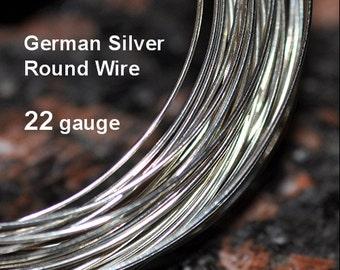 22 g German Silver Wire Soft Temper 25 feet