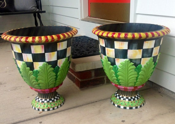 Items Similar To Large Urn Planter Pot