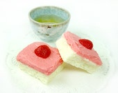 DISCONTINUED 50% OFF - Strawberry Cake - Goat's Milk Soap Bar