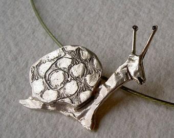Colgante caracol/ Snail necklace