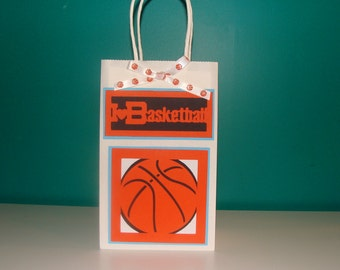 Made To Order Basketball Favor Bags
