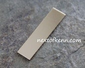 20g 1.5 inch Gold fill Rectangle - Next of Kenn Stamping Blank