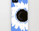 Sunflower on Phone Case - Samsung Galaxy S6, iPhone 5C, iPhone 6S, iPhone 6 Plus, flower gifts, Gifts for her, Gifts for mum, Gift Ideas