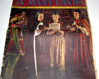 Vintage (1938) Christmas Booklet - Christmas in Many Lands