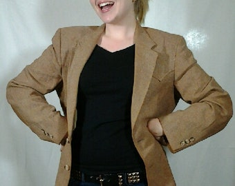 Vintage Brown Western Jacket