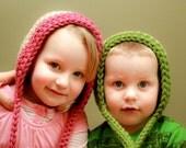Instant Download - Crochet Pattern - Simple Bonnet (Newborn to Child)