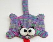 Splat Cat Amigurumi Plush Toy Knitting Pattern PDF Download