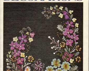 Pressed Flower Decorations How-to-Book by Margaret Spencer
